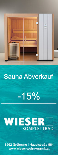 wieser wohnkeramik sauna. Black Bedroom Furniture Sets. Home Design Ideas